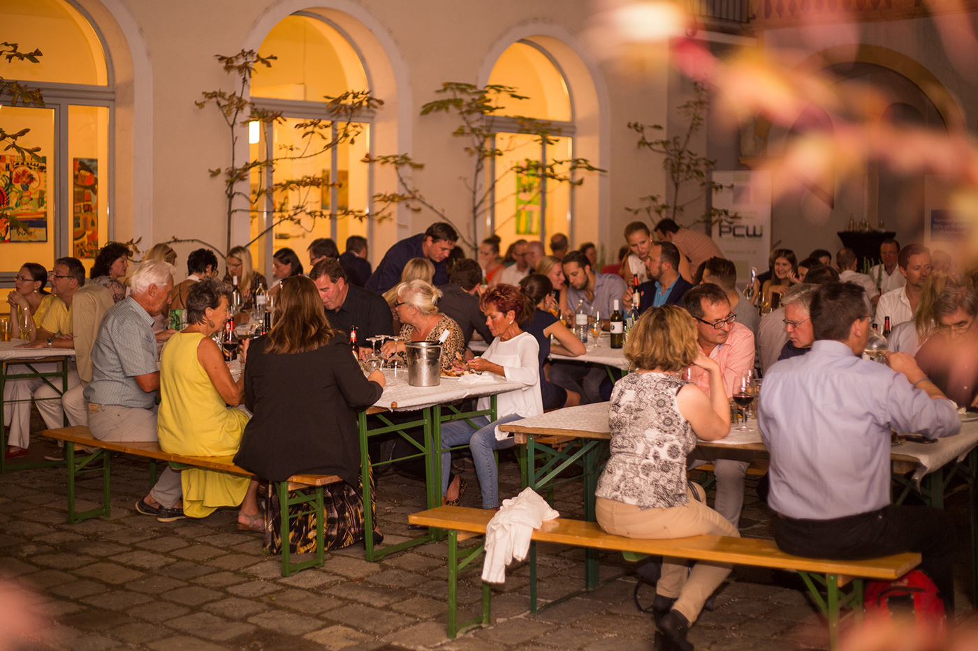 pc-web Sommerfest 2016 am St. Ulrichsplatz