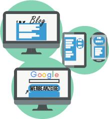 Webshop-Werbung für neue und etablierte ECommerce-Unternehmen
