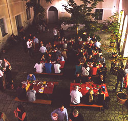 Das pc-web Sommerfest 2016 am Ulrichsplatz.
