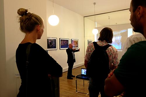 Führung durch die Ausstellung am St. Ulrichsplatz.